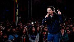 """Pablo Iglesias: """"Sé que he decepcionado a mucha gente"""" y """"hemos dado vergüenza ajena con nuestras peleas internas"""""""