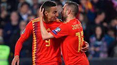 Rodrigo adelanta a España (1-0)