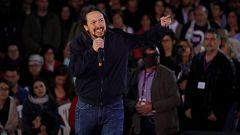 """Iglesias regresa a la primera línea política y reconoce que Podemos ha dado """"vergüenza ajena"""" con sus peleas"""