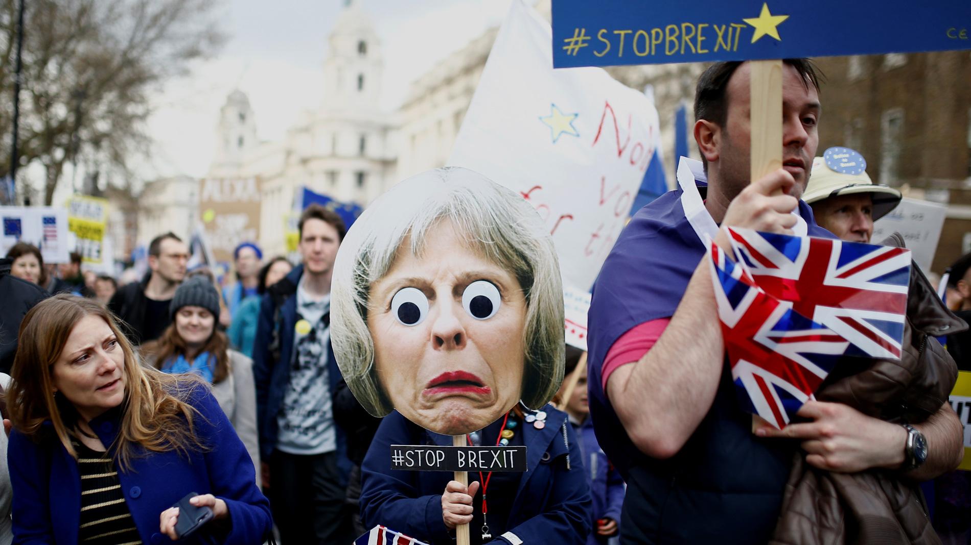 Piden un segundo referéndum del 'Brexit'