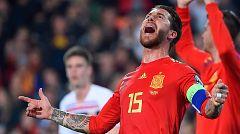 Sergio Ramos marca a lo 'Panenka' (2-1)