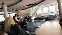 Complejo rescate de más de 1.300 pasajeros de un crucero a la deriva en Noruega