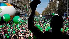 """Manifestación en Madrid en contra del aborto y la eutanasia y en """"apoyo a la vida"""""""