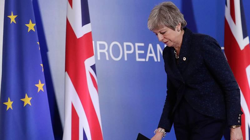 La primera ministra del Reino Unido, en la cuerda floja por su gestión del 'Brexit' - Ver ahora
