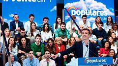 """Cataluña, la Constitución o """"el miedo"""", entre los temas tratados en los actos de precampaña"""