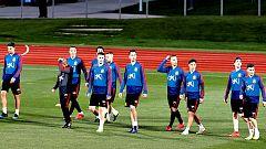 La selección española ya está en La Valeta