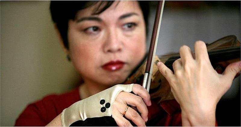 Órbita Laika - Curiosidades científicas - El violín imposible de Mari Kimura