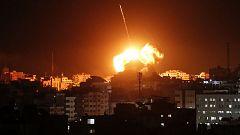 Israel bombardea posiciones de Hamás tras el lanzamiento de un cohete