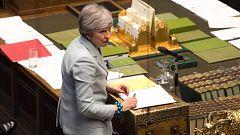 May pospone la votación del acuerdo del 'Brexit'