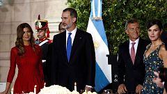 """El rey Felipe asegura que España ha apostado """"siempre"""" por Argentina y lo seguirá haciendo"""
