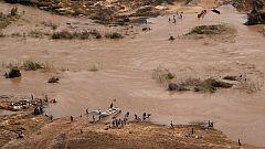 Miles de personas continúan aisladas en los alrededores de Beira diez días después del ciclón Idai