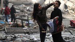 Calma tensa en Gaza tras una noche de bombardeos