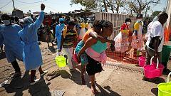 """Una superviviente del ciclón Idai: """"La situación es pésima, no tenemos de nada"""""""
