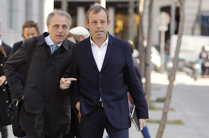 El juicio a Sandro Rosell queda visto para sentencia
