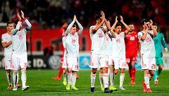 La Roja dedica la victoria a Luis Enrique