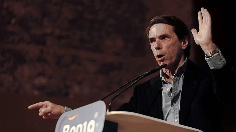 """Aznar carga contra Vox: """"A mí nadie me dice a la cara 'derechita cobarde'"""""""