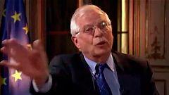 Borrell interrumpe una entrevista en Alemania por las preguntas sobre Cataluña