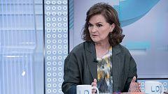 Los desayunos de TVE - Carmen Calvo, vicepresidenta del Gobierno