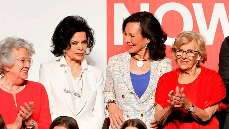 """Bianca Jagger relata su """"historia de una rebelde"""" en el Women Now Summit en Madrid"""