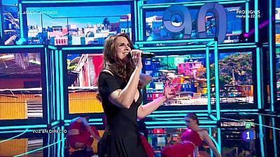 Nuria Fergó canta 'Despacito'