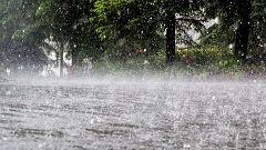 Precipitaciones intensas en Canarias y el suroeste peninsular