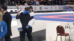Laura Palacio se derrumba de la emoción al saberse campeona de Europa