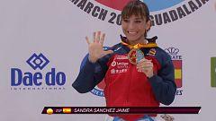 La española Sandra Sánchez se cuelga su quinto oro