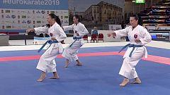 Kárate - Campeonato de Europa Bronce Kata Equipos Masculino y Femenino