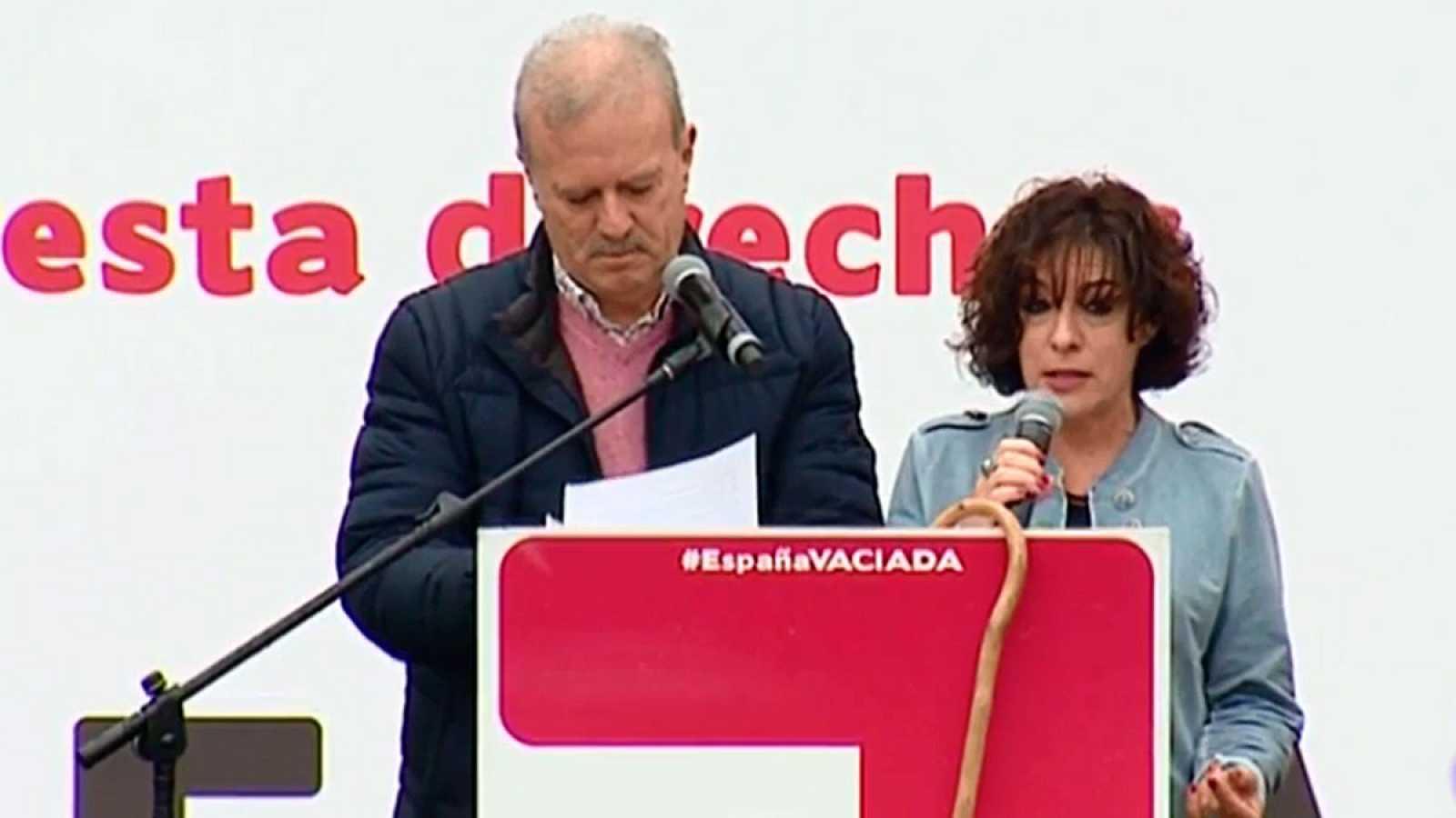 La 'España vaciada' pide en un manifiesto que los políticos presten más atención a los territorios que pierden población