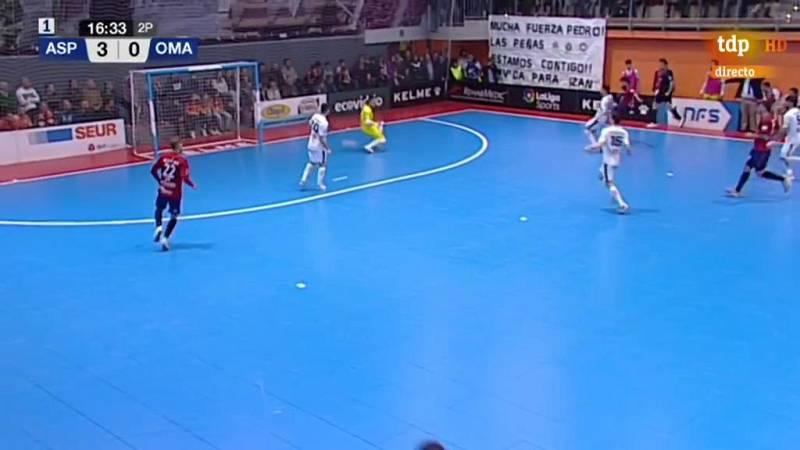 Recorta distancias Osasuna con un trallazo de Martel. Aspil Ribera Navarra 3-1 Osasuna Magna