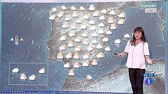 Las lluvias persisten hoy en la mitad este peninsular y Baleares