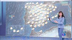 Hoy, chubascos en Canarias y lluvias y tormentas en el interior peninsular