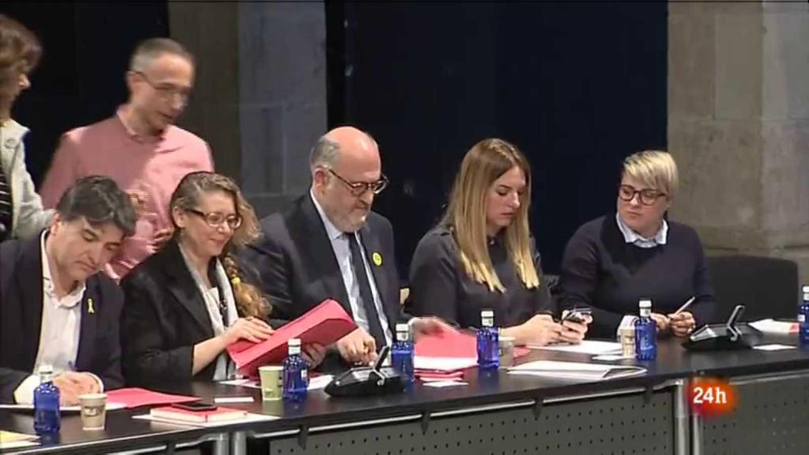 Vídeo sobre l'anàlisi de l'actualitat política a Catalunya. Vespre 24 del 01/04/2019