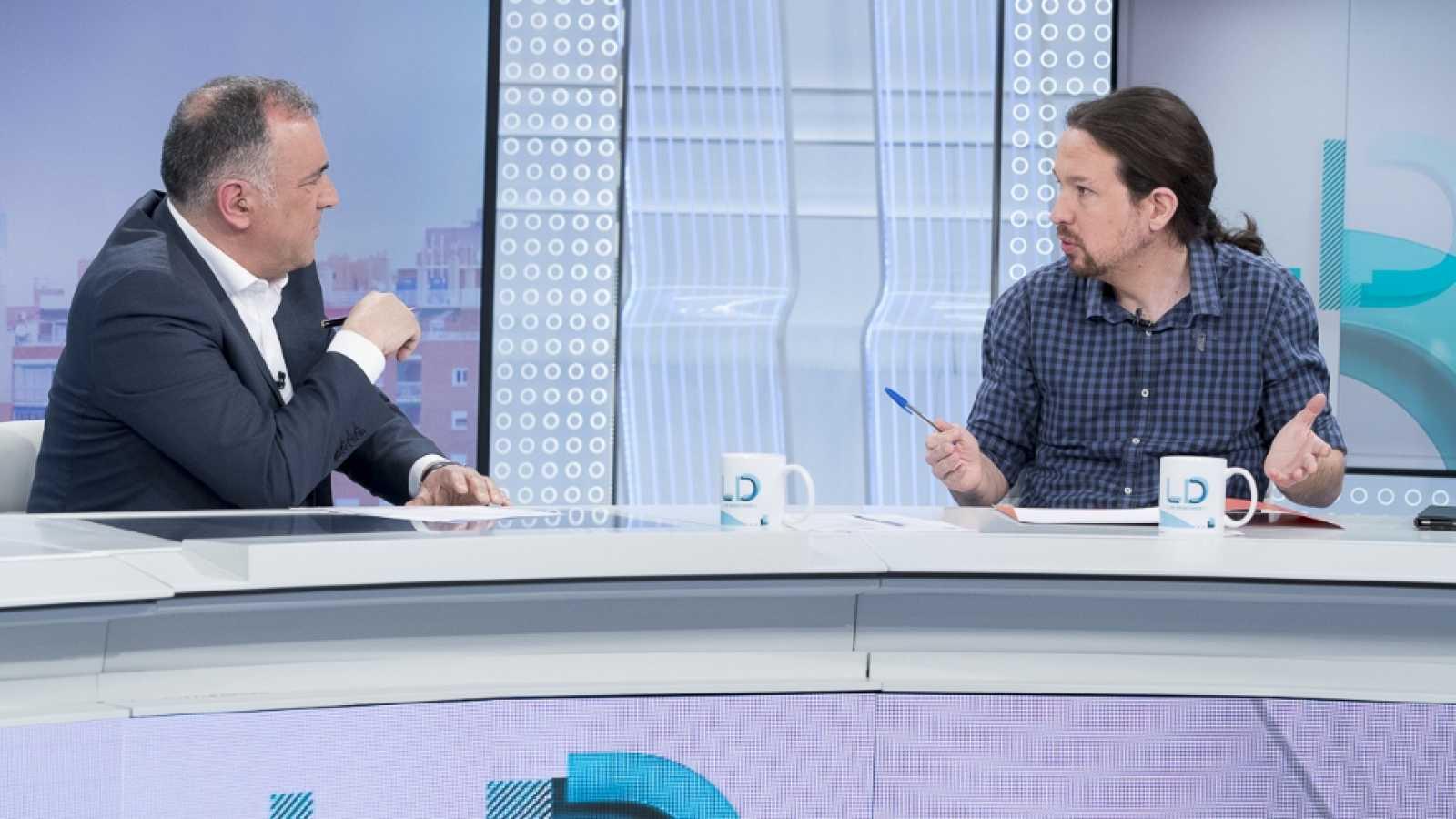 Los desayunos de TVE - Pablo Iglesias - ver ahora