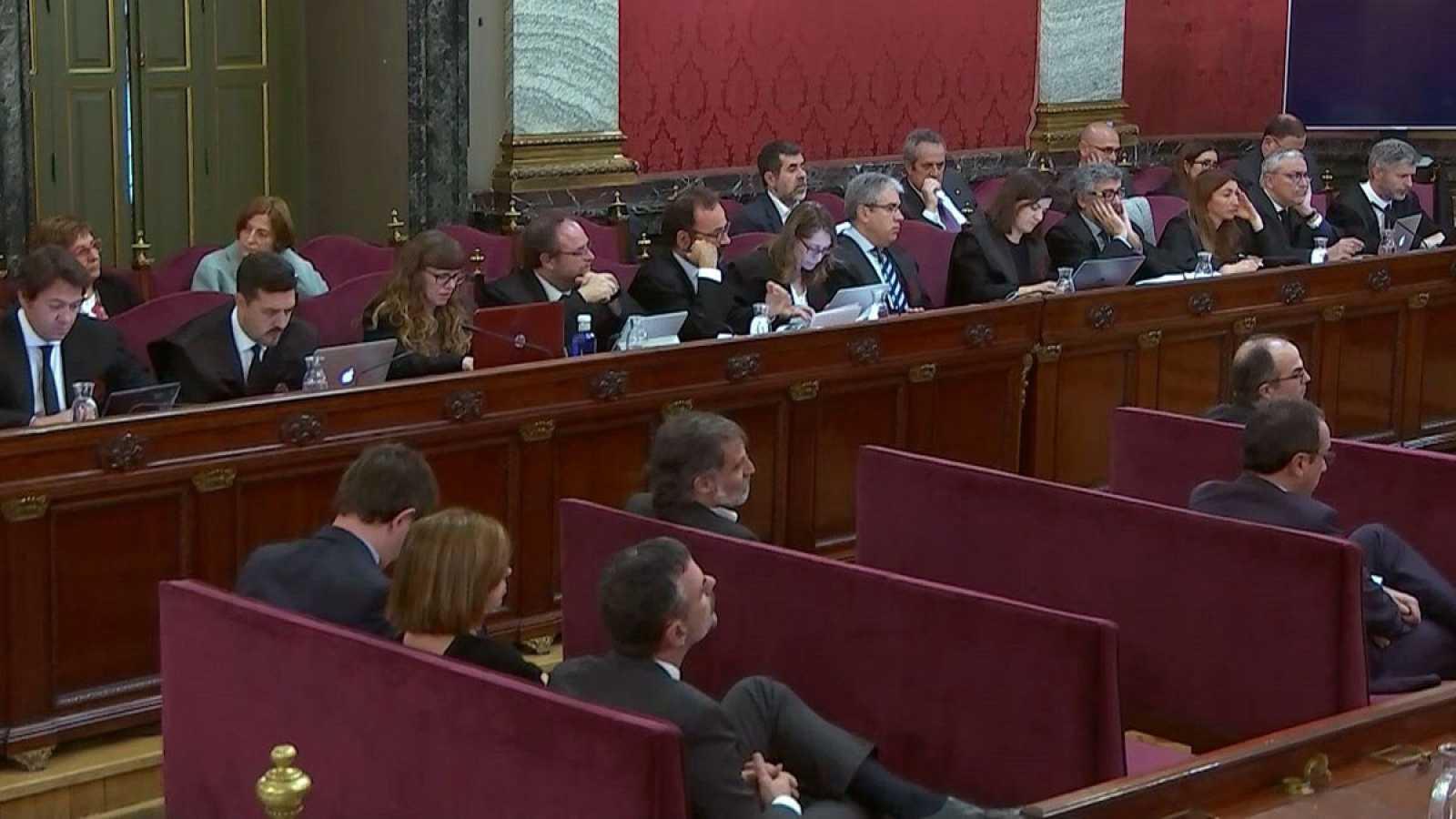 El jefe de Información de la Policía en Cataluña declara que fueron espiados por los mossos