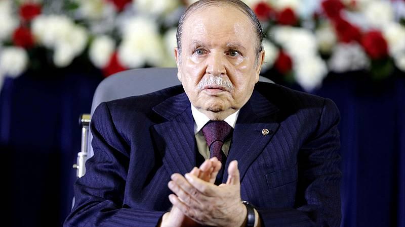 Bouteflika dimite como presidente de Argelia tras 20 años en el cargo