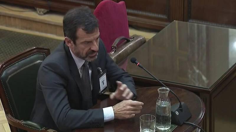 """Ferrán López: """"Puigdemont dijo que si se producía el escenario del que alertábamos declararía la independencia"""""""