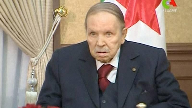 """Bouteflika pide perdón al pueblo argelino en una """"última carta"""""""