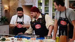 Hacer de comer - Zarzuela de marisco y escalopines al roquefort