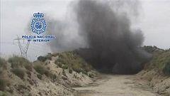 Los TEDAX desactivan una bomba y una granada de la Guerra Civil
