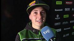 """Ana Carrasco: """"Con el rendimiento estoy contenta, es mala suerte, alguien me ha tocado por detrás"""""""