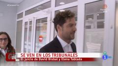 Corazón - David Bisbal y Elena Tablada se ven en los juzgados