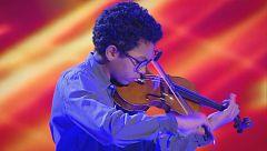 El violín de Jaime voló al ritmo de Rimsky Korsakov