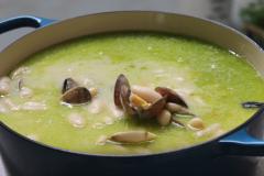 Hacer de comer - Crema de alcachofas y guiso de conejo