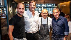 TVE visita el restaurante de Guardiola en Manchester