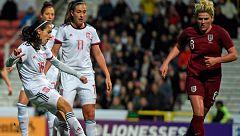 Inglaterra supera a España en un ensayo mundialista