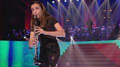 El clarinete de Carla nos trasladó a la infancia