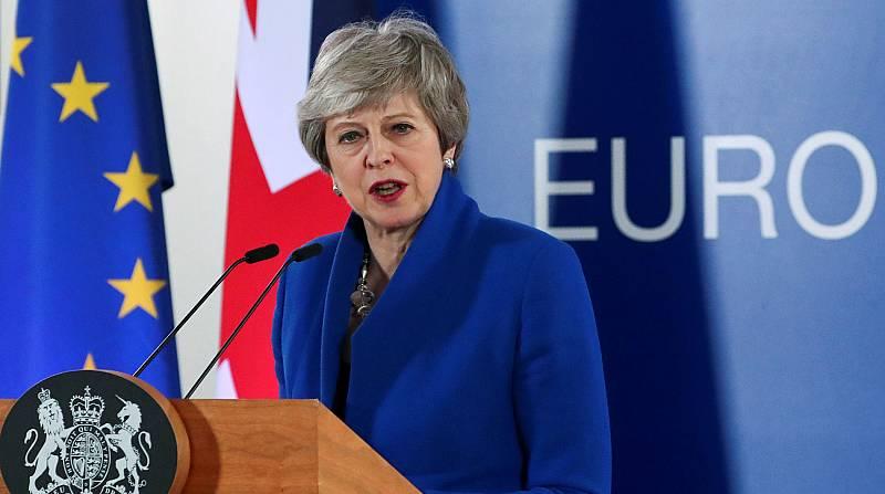"""May tras la prórroga: """"Si el Parlamento ratifica el acuerdo en mayo, Reino Unido no participará en las europeas"""""""