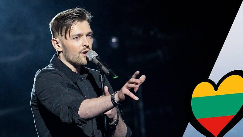"Eurovisión 2019 - Jurijus (Lituania): Videoclip de ""Run with the lions"""