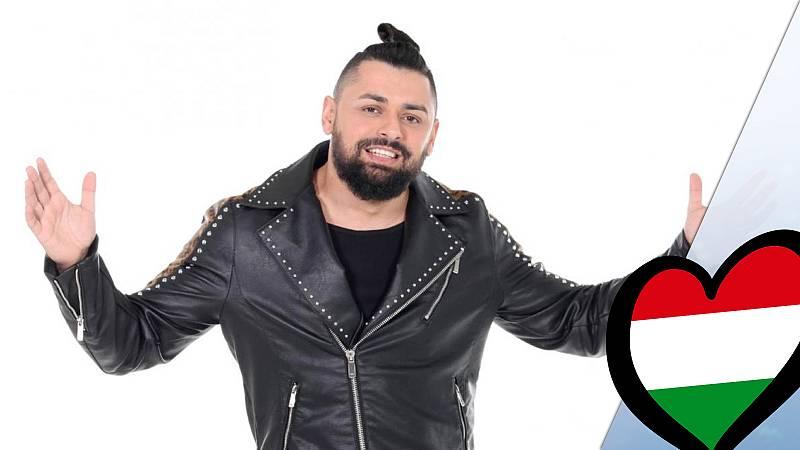 """Eurovisión 2019 - Joci Pápai (Hungría): Videoclip de """"Az én Apám"""""""